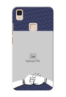 Vivo V3 Max best friends design Design Design