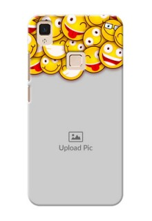 Vivo V3 Max smileys pattern Design Design