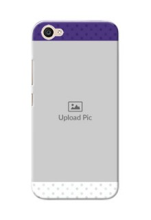 Vivo V5 Lite Violet Pattern Mobile Cover Design