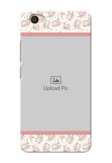 Vivo V5 Plus Floral Design Mobile Back Cover Design