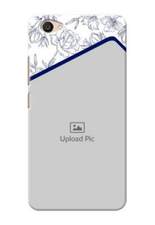 Vivo V5 Plus Floral Design Mobile Cover Design