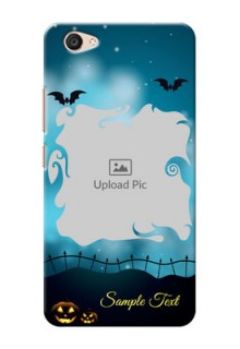 Vivo V5 Plus halloween design with designer frame Design