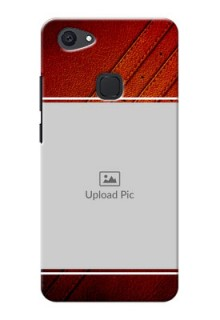 Vivo V7 Plus Leather Design Picture Upload Mobile Case Design