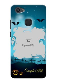 Vivo V7 Plus halloween design with designer frame Design