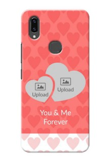 Vivo V9 Pro personalized phone covers: Couple Pic Upload Design