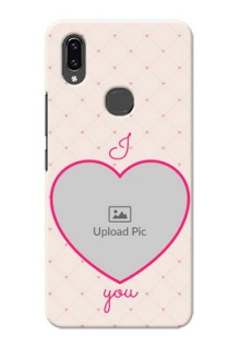Vivo V9 Pro Personalized Mobile Covers: Heart Shape Design