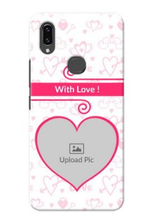Vivo V9 Pro Personalized Phone Cases: Heart Shape Love Design
