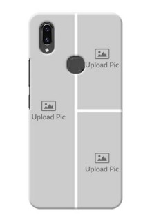 Vivo V9 Pro Custom Mobile Cover: Upload Multiple Picture Design