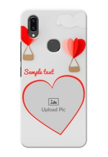 Vivo V9 Pro Phone Covers: Parachute Love Design