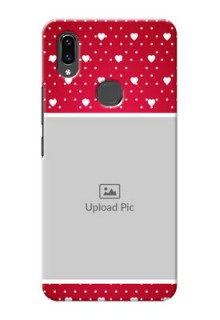 Vivo V9 Pro custom back covers: Hearts Mobile Case Design