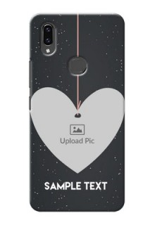 Vivo V9 Pro custom phone cases: Hanging Heart Design