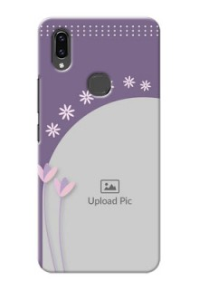Vivo V9 Pro Phone covers for girls: lavender flowers design