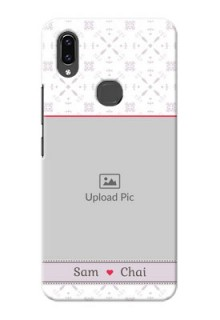Vivo V9 Pro Phone Cases with Photo and Ethnic Design