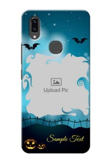 Vivo V9 Pro Personalised Phone Cases: Halloween frame design