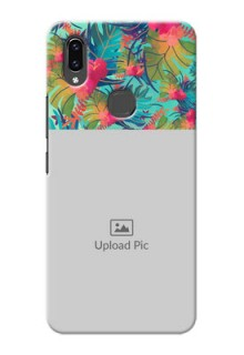 Vivo V9 Pro Personalized Phone Cases: Watercolor Floral Design