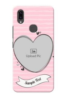 Vivo V9 Pro custom mobile phone covers: Vintage Heart Design
