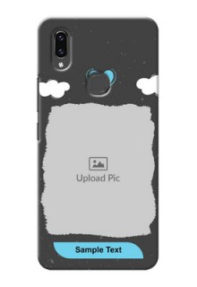 Vivo V9 Pro Mobile Back Covers: splashes with love doodles Design