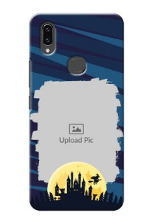 Vivo V9 Pro Back Covers: Halloween Witch Design