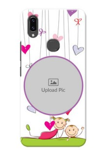 Vivo V9 Youth Cute Babies Mobile Cover  Design