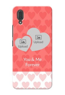 Vivo X21 personalized phone covers: Couple Pic Upload Design