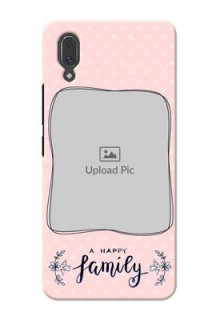 Vivo X21 Personalized Phone Cases: Family with Dots Design