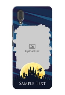 Vivo X21 Back Covers: Halloween Witch Design