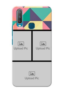 Vivo Y12 personalised phone covers: Bulk Pic Upload Design