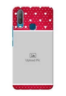 Vivo Y12 custom back covers: Hearts Mobile Case Design