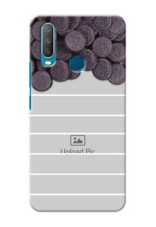 Vivo Y12 Custom Mobile Covers with Oreo Biscuit Design