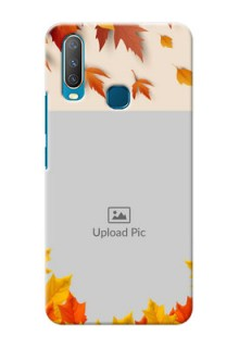 Vivo Y12 Mobile Phone Cases: Autumn Maple Leaves Design