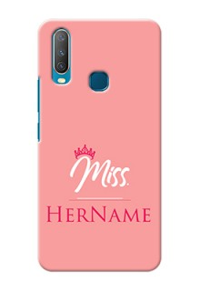 Vivo Y12 Custom Phone Case Mrs with Name