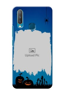 Vivo Y15 mobile cases online with pro Halloween design