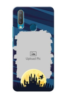 Vivo Y15 Back Covers: Halloween Witch Design