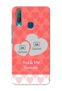 Vivo Y17 personalized phone covers: Couple Pic Upload Design