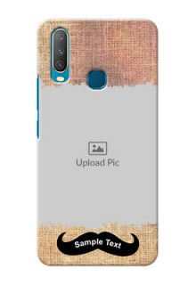Vivo Y17 Mobile Back Covers Online with Texture Design