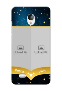 Vivo Y21L 2 image holder with galaxy backdrop and stars  Design