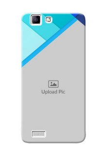 Vivo Y27 L Blue Abstract Mobile Cover Design