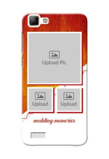 Vivo Y35 Wedding Memories Mobile Cover Design
