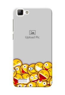 Vivo Y35 smileys pattern Design Design