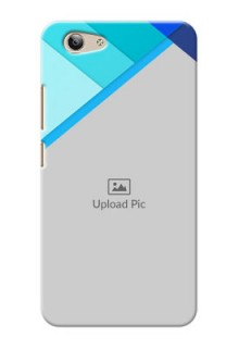 Vivo Y53 Blue Abstract Mobile Cover Design