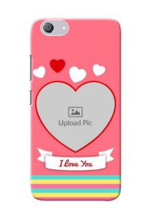 Vivo Y53i Personalised mobile covers: Love Doodle Design