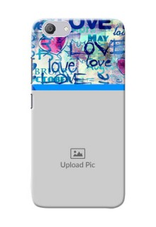 Vivo Y53i Mobile Covers Online: Colorful Love Design