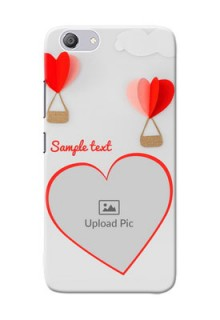 Vivo Y53i Phone Covers: Parachute Love Design