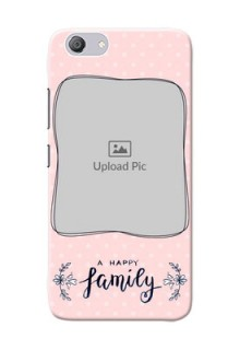 Vivo Y53i Personalized Phone Cases: Family with Dots Design