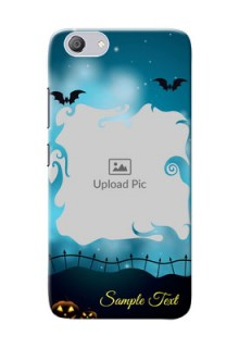 Vivo Y53i Personalised Phone Cases: Halloween frame design