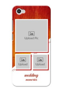 Vivo Y55L Wedding Memories Mobile Cover Design