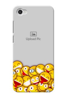 Vivo Y55L smileys pattern Design Design