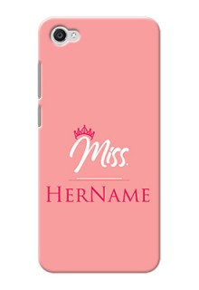 Vivo Y55 L Custom Phone Case Mrs with Name