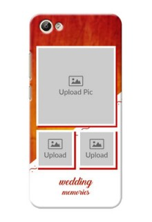 Vivo Y66 Wedding Memories Mobile Cover Design