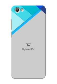 Vivo Y66 Blue Abstract Mobile Cover Design